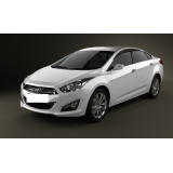 Hak Hyundai i40 SEDAN / KOMBI 2011-