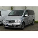Hak Mercedes VIANO bez czujników cofania 2003-
