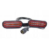ZESTAW LAMP TYLNE ZESPOLONE DO PRZYCZEP FT-320 LED